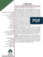 Boletim Informativo 24.03.13
