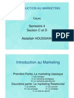 Introduction au Marketing S4 Faculté