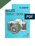 CanonEOS500nmanual