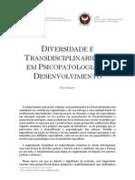 DIVERSIDADE E TRANSDISCIPLINARIDADE EM PSICOPATOLOGIA DO DESENVOLVIMENTO
