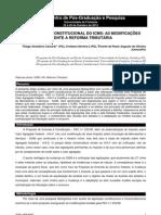O novo perfil constitucional do ICMS - As modificações frente a reforma tributária
