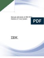 IBM SPSS Statistics Users Guide - ITA