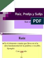 Ra_z_ Prefijo y Sufijo