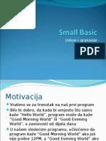 Small Basic 4- Uslovi i grananje