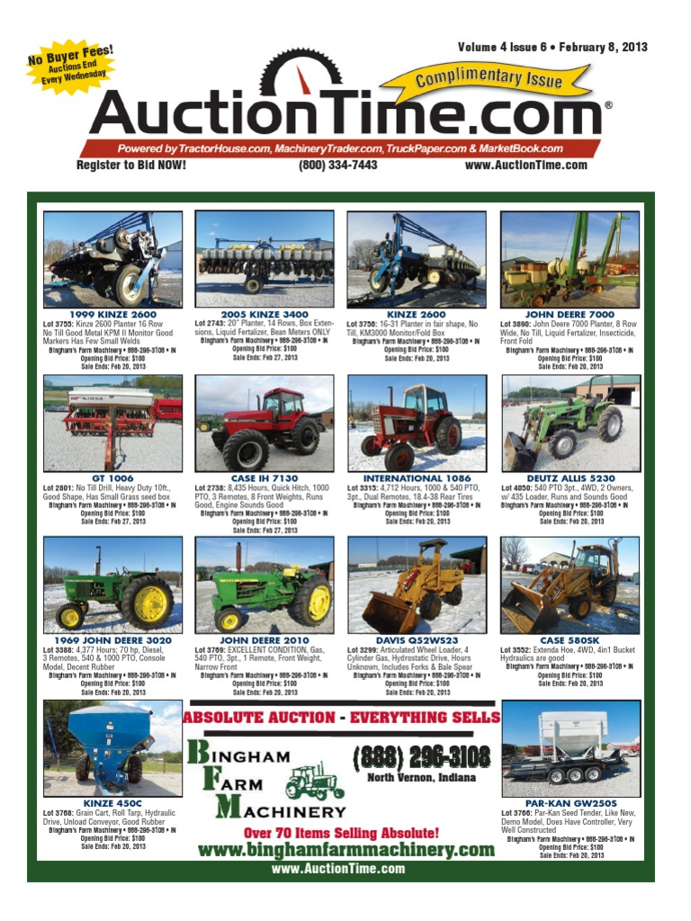 Auction Time Magazine 31012013download | Trailer (Vehicle