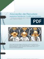 Alocação de Recursos (2)