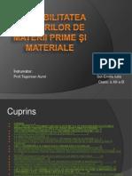 Contabilitatea Stocurilor de Materii Prime Si Materiale