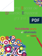 Cuaderno Casa Programa Desarrollo Emocional