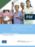 2009 NCLEX Candidate Bulletin