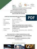 Invitacion Curso de ICS 2013