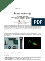 Transmission spectroscope