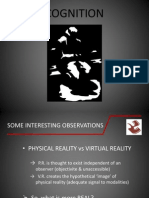 Cognition - Visual & Aural