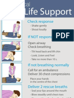 Basic Life Support Poster