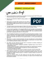 B-Emergency Evacuation Rev 0