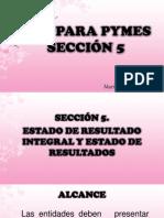 Niif Seccion 5, Ba Ven Nif 5 y Nic 1