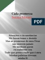 Cada Promessa - Soraya Moraes