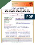 GSC Bowling Flyer