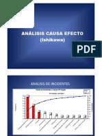 Analisi Causa Efecto (Ishikawa)2011