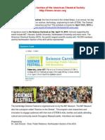 The Cambridge Science Festival 2013