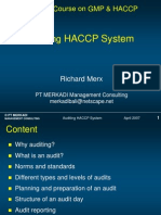 Merx_Principles of HACCP Auditing