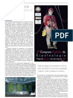 2007-01 Congreso 2 Espeleo Andalucía Priego Andalucía Subterránea