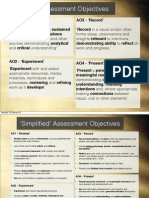 Assessment Objectives and Top Tips
