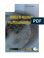 Modele de Regionare Politico-Administrativa