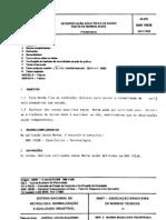 NBR 10538 - 1988 - Interpretação Estatística de Dados - Test