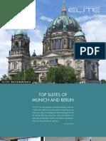 Top Suites of Berlin and Munich - Elite Travleler