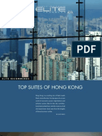 Top Suites of Hong Kong - Elite Traveler