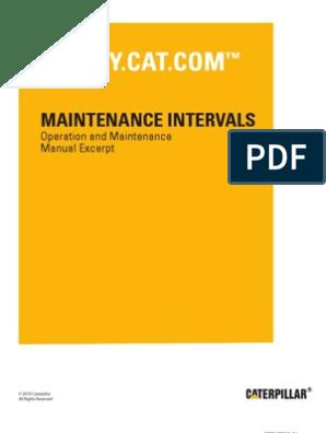 CAT Caterpillar G3408 G3412 Diesel Engine Operation Maintenance Manual owner