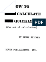 How to Calculate Quickly.pdf