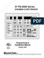 PROGRAMMABLE LIMIT SWITCH
