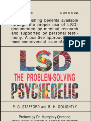 LSD - The Problem-Solving Psychedelic | Lysergic Acid