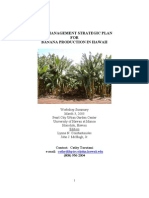 integrated pest management in bana