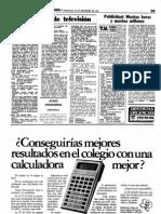 Programación TVE 1981