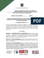 Proyecto de Acuerdo 059 del 23 de febrero de 2013
