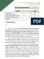 Matematica Financeira Estatistica e Raciocinio Critico p Icmssp Aula 00 Aula Demonstrativa Icms Sp 17052