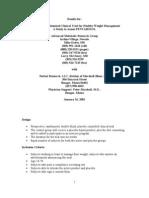 Pentabosol (Metabosol) Clinical Trial Final Results Jan 16 01
