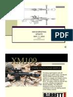 Xm109 Briefing