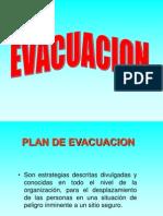 evacuación