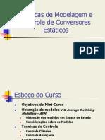 Técnicas de Modelagem e Controle de Conversores Estáticos