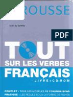 LAROUSSE - Tout Sur Les Verbes Francais