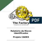 CADEX-GPROJ-RelatorioRiscosIdentificados