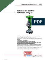 Valvulas de Control Esfericas