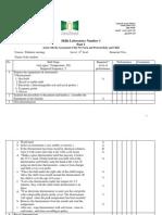 Pediatric Checklist Edited