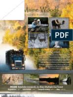 North Maine Woods Brochure