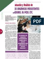 Evaluación y analisis de COPs Dioxinas DLPCBs y otros
