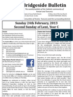 2013-02-24 - 2nd Lent Year C