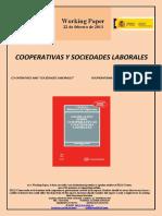 """COOPERATIVAS Y SOCIEDADES LABORALES (Es) CO-OPERATIVES AND """"SOCIEDADES LABORALES"""" (Es) KOOPERATIBAK ETA LAN SOZIETATEAK (Es)"""